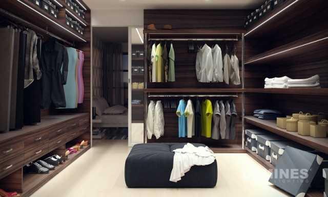 Jak oświetlić garderobę