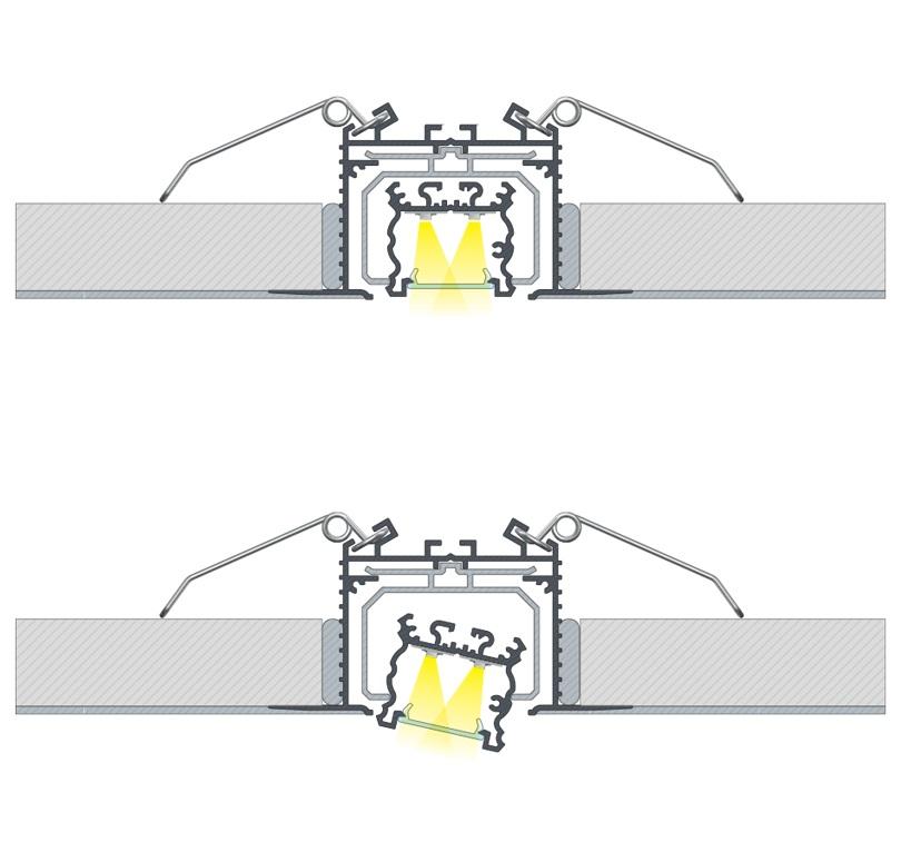 Maskownica LED