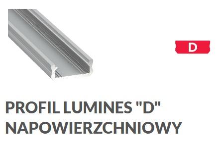 Profil aluminiowy D
