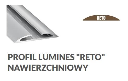 Profil aluminiowy Reto