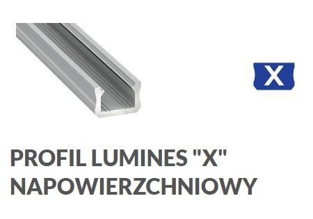 Profil aluminiowy X