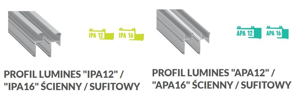 Profil sufitowy LED