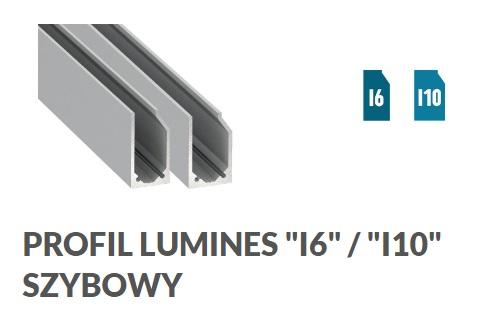 Profil szybowy LED