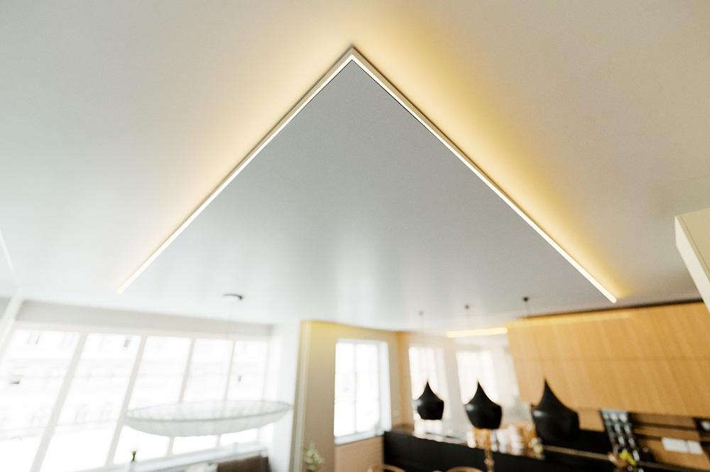Oświetlenie Led Sufitowe Jako Pomysł Na Oświetlenie Sufitu