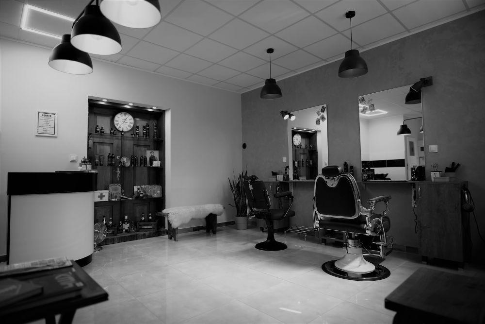 Nowoczesny salon fryzjerski