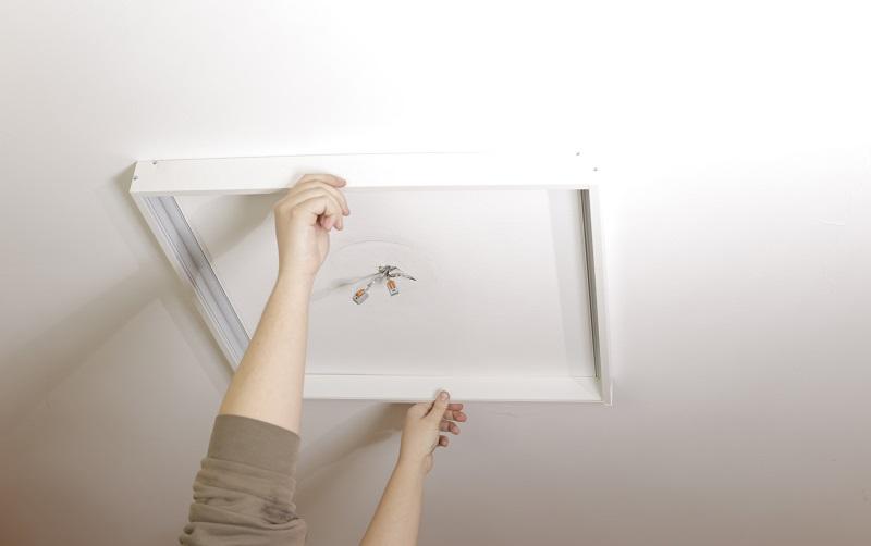 LED panel Light - montaż i jego rodzaje