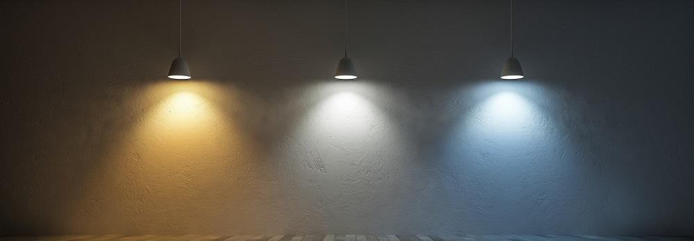Barwa światła w kuchni