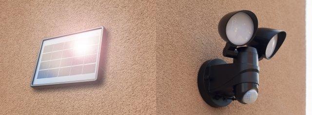 Lampy solarne LED
