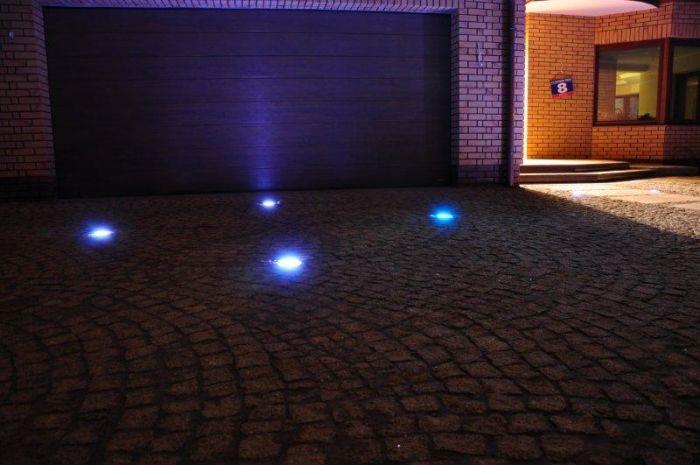 Oświetlenie podjazdu do garażu