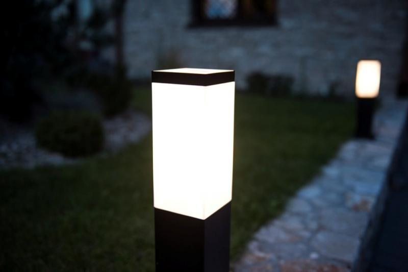 Oświetlenie podjazdu lampy stojące