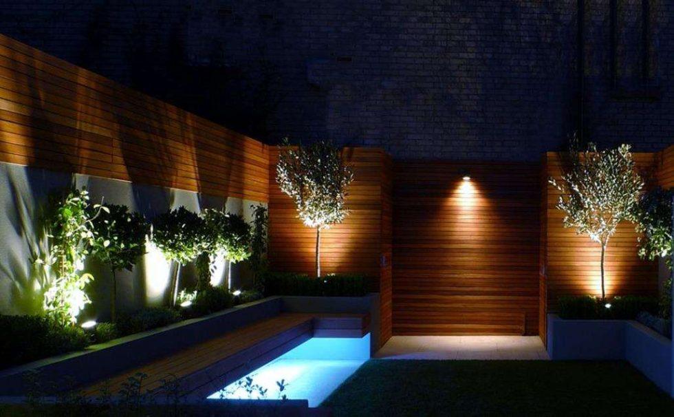 Oświetlenie ogrodzenia