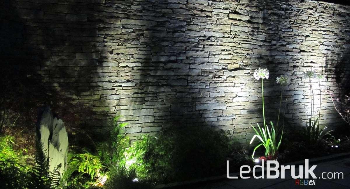 Oświetlenie w ogrodzeniu