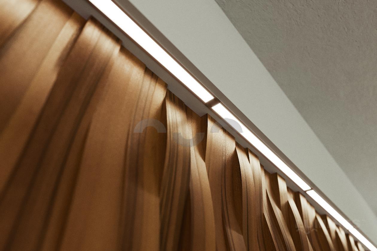 Jakie lampy na skośny sufit