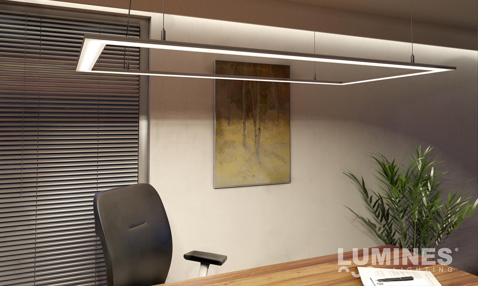 Oświetlenie biurka LED