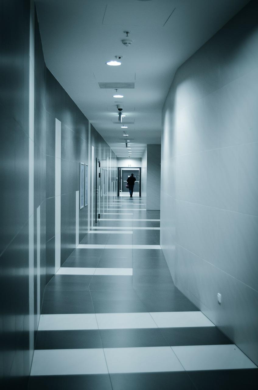 Oświetlenie korytarz