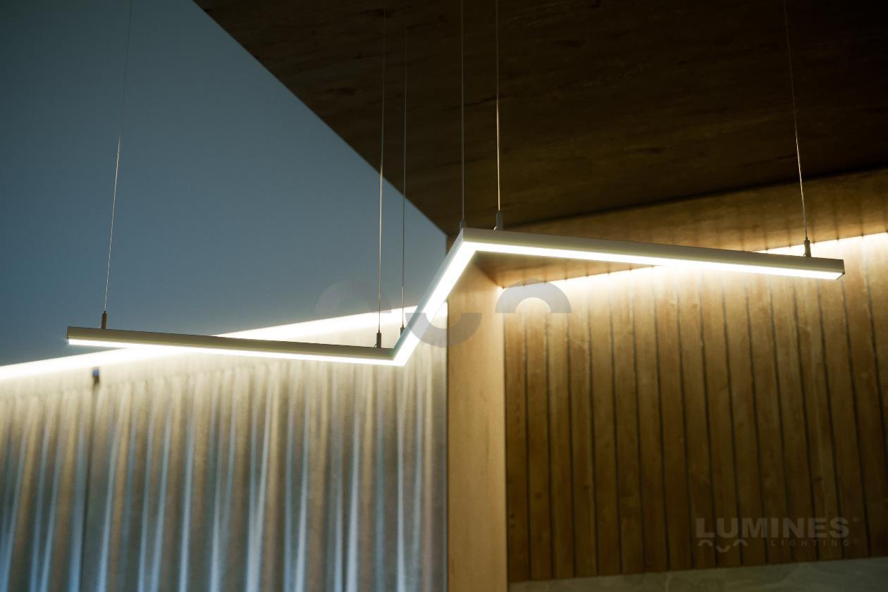Linia LED wisząca