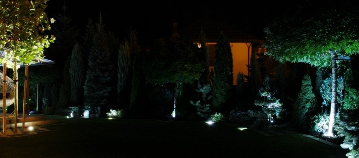 Oswietlenie LED do ogrodu
