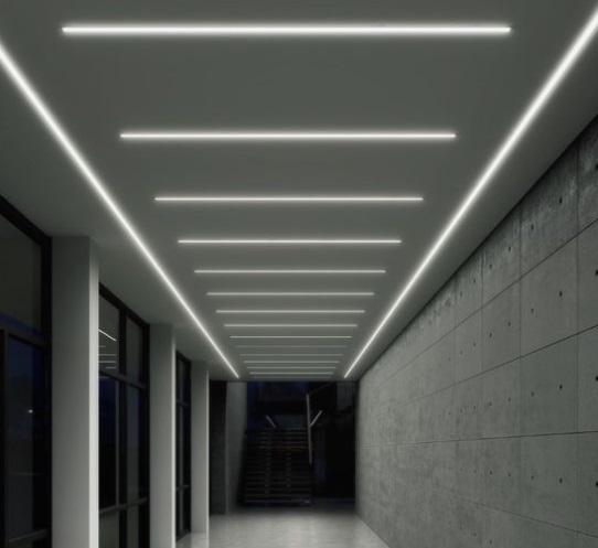 Profile LED sufitowe – rodzaje i ich możliwości