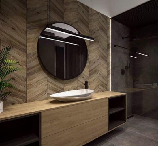 lampa DIY profil led