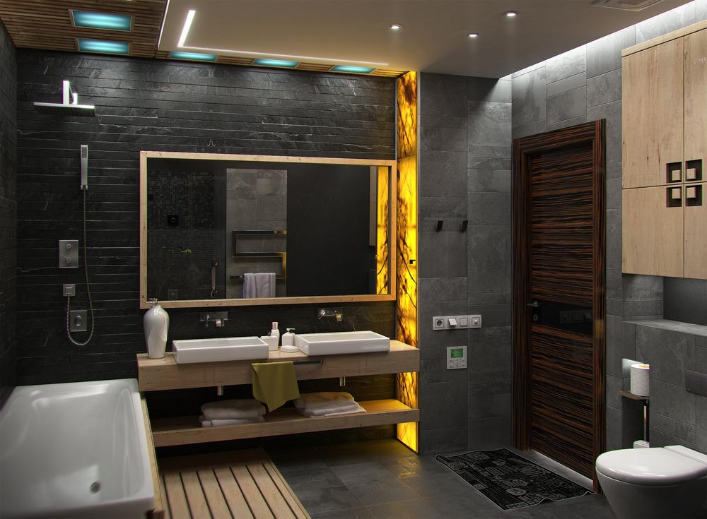 Jakie oświetlenie do małej łazienki