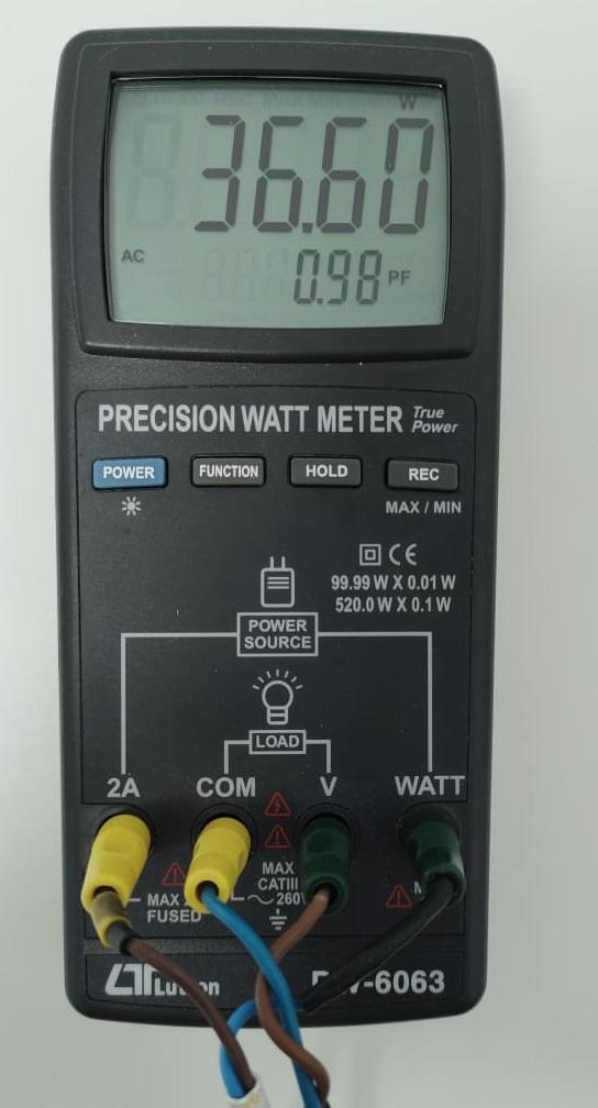 Pomiar mocy Brilux