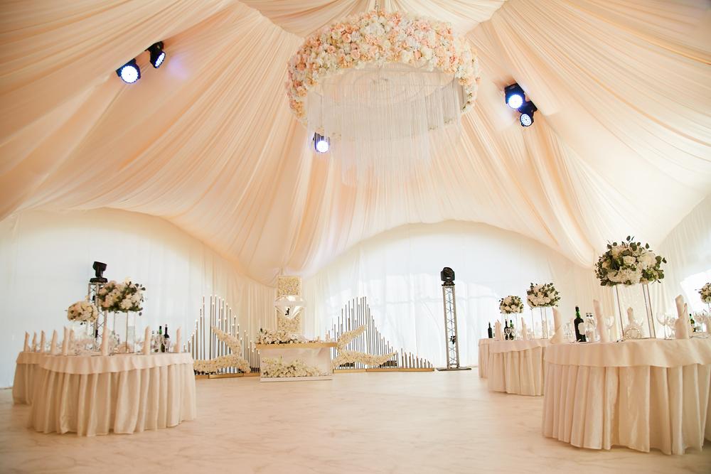 Oświetlenie sal weselnych
