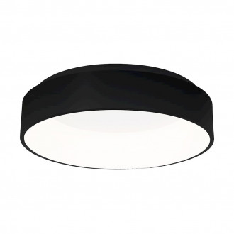 Plafon OHIO BLACK 24W LED