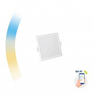 ALGINE 6W CCT+DIM WI-FI SPECTRUM SMART             SQUARE