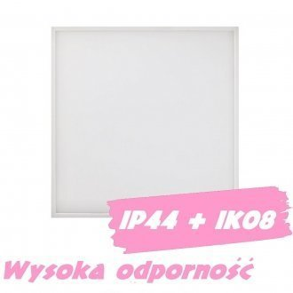 Panel LED IP44 60x60 40W PLATO-3 IK08