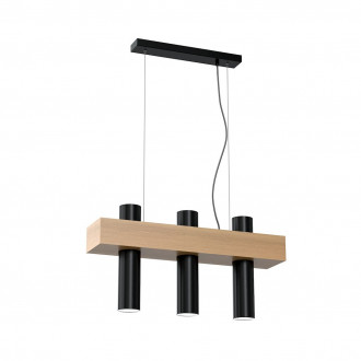 Lampa wiszaca WEST BLACK 3xGU10