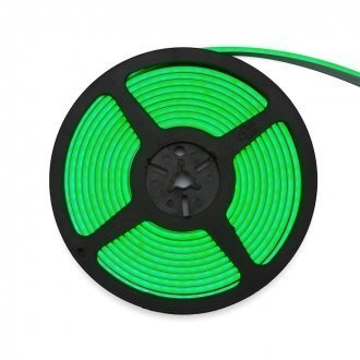 Neon LED Flex 3Y 24V 12W/m 4x10mm Zielony - rolka 5m
