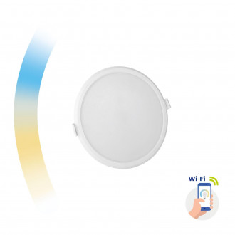 ALGINE 12W CCT+DIM WI-FI SPECTRUM SMART            ROUND