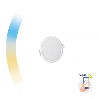 ALGINE 6W CCT+DIM WI-FI SPECTRUM SMART             ROUND