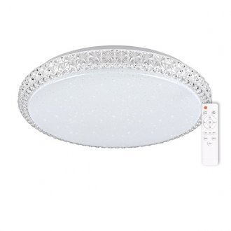 Lampa plafon do salonu IRINA LED 50cm z pilotem