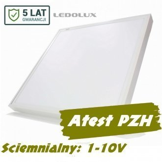 Panel LED 60x60 SQR 45W 4550lm 1-10V 5 lat gw.
