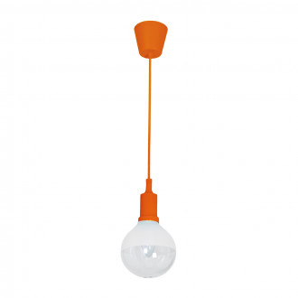 LAMPA WISZĄCA BUBBLE ORANGE 5W E14 LED
