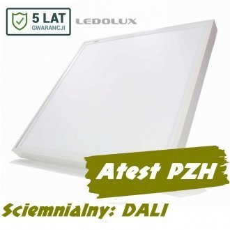 Panel LED 60x60 SQR 40W 4800lm DALI 5 lat gw.